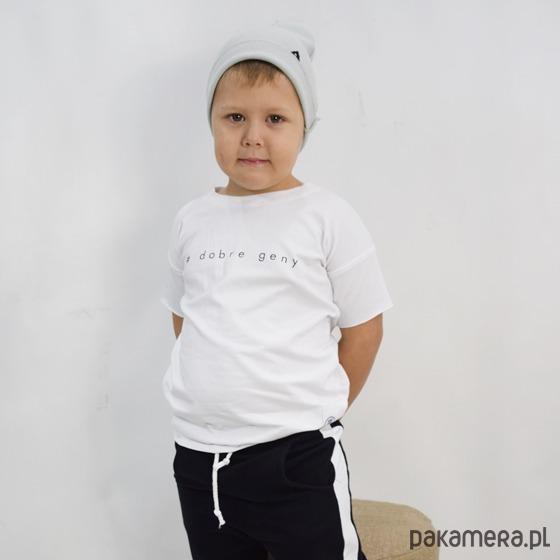 1da33a54907aa2 T-shirt #dobre geny - chłopiec - bluzki - chłopiec - Pakamera.pl