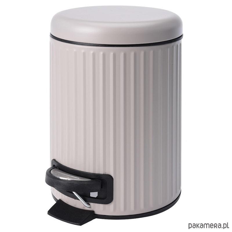 Kosz Na śmieci łazienowy Beżowy Pakamerapl