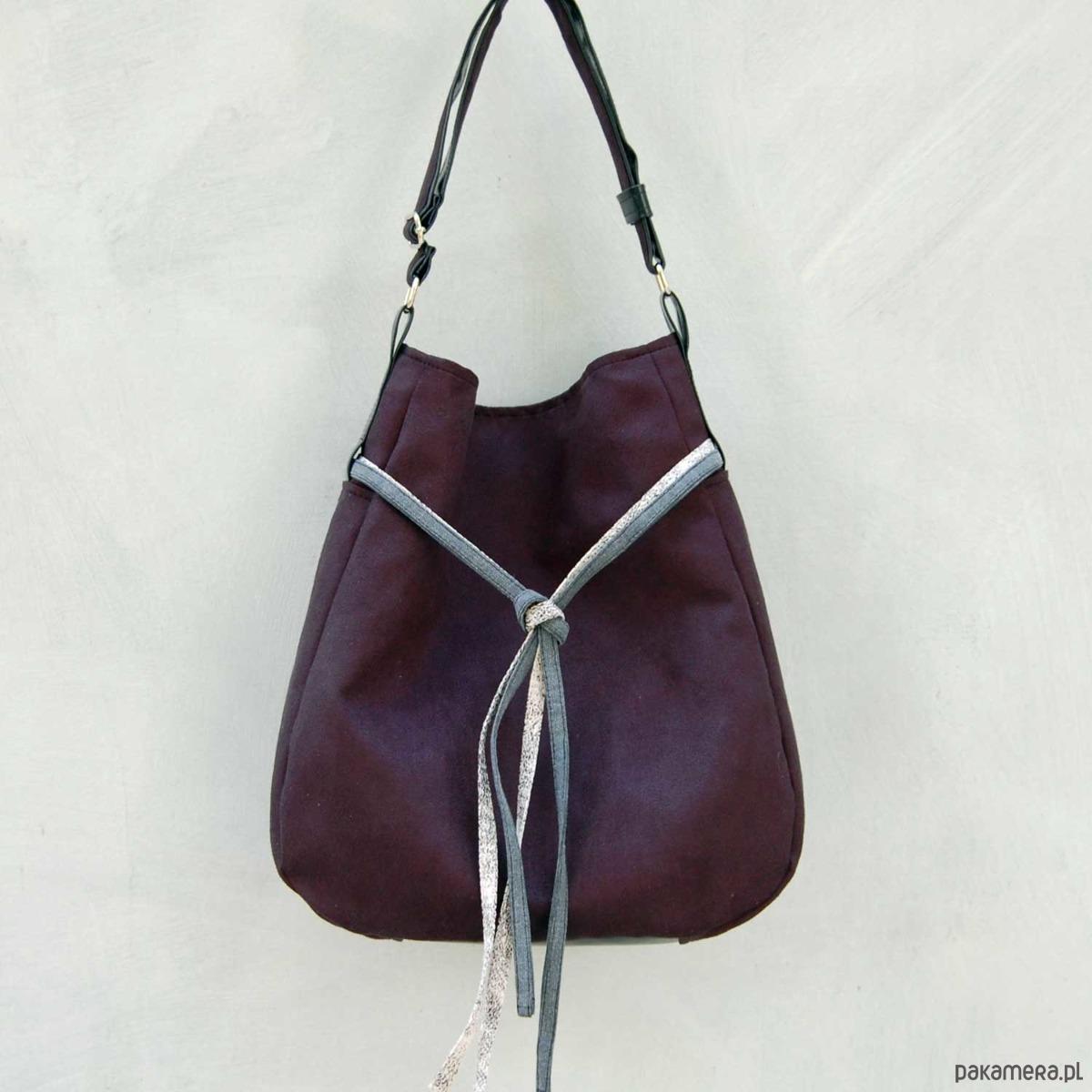 a9e6aa1e29f9c SIMPLY BAG - duża torba worek - czarna - torby na ramię - damskie -  Pakamera.pl