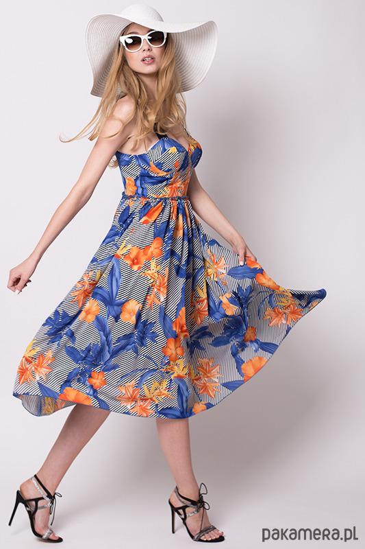 Sukienka gorsetowa BRIDGITE