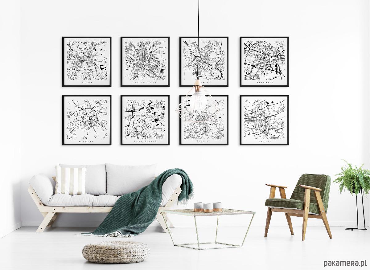 śląsk Galeria Map Wybierz Kolory I Miasta Pakamerapl