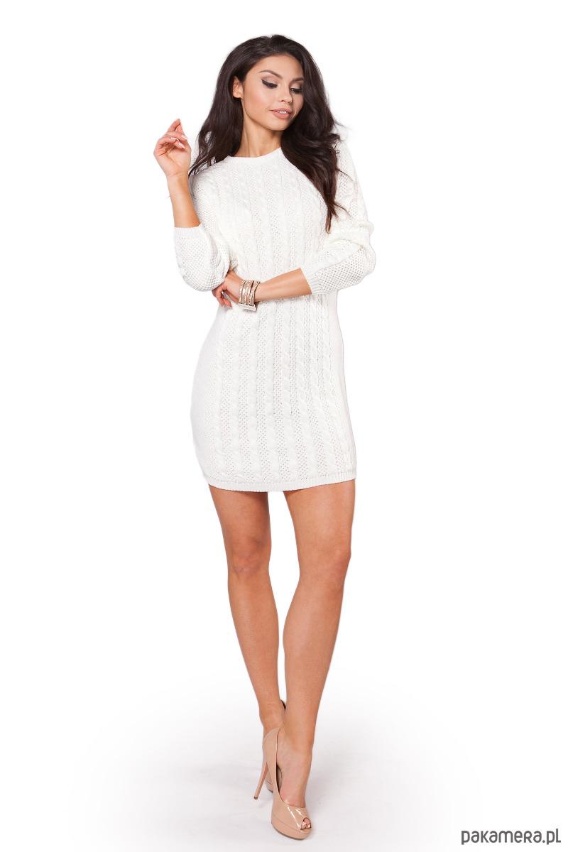 Sukienka S106 ECRU