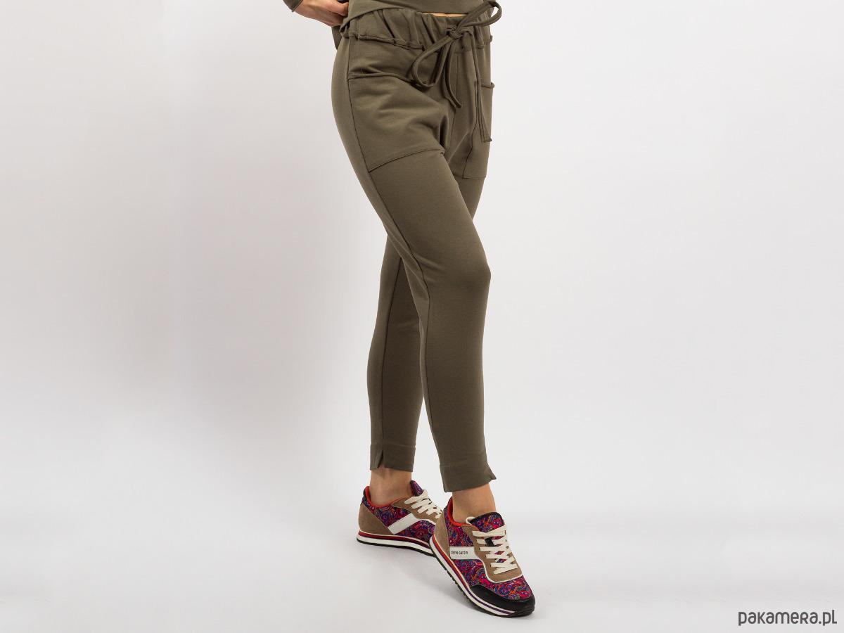 Spodnie damskie khaki