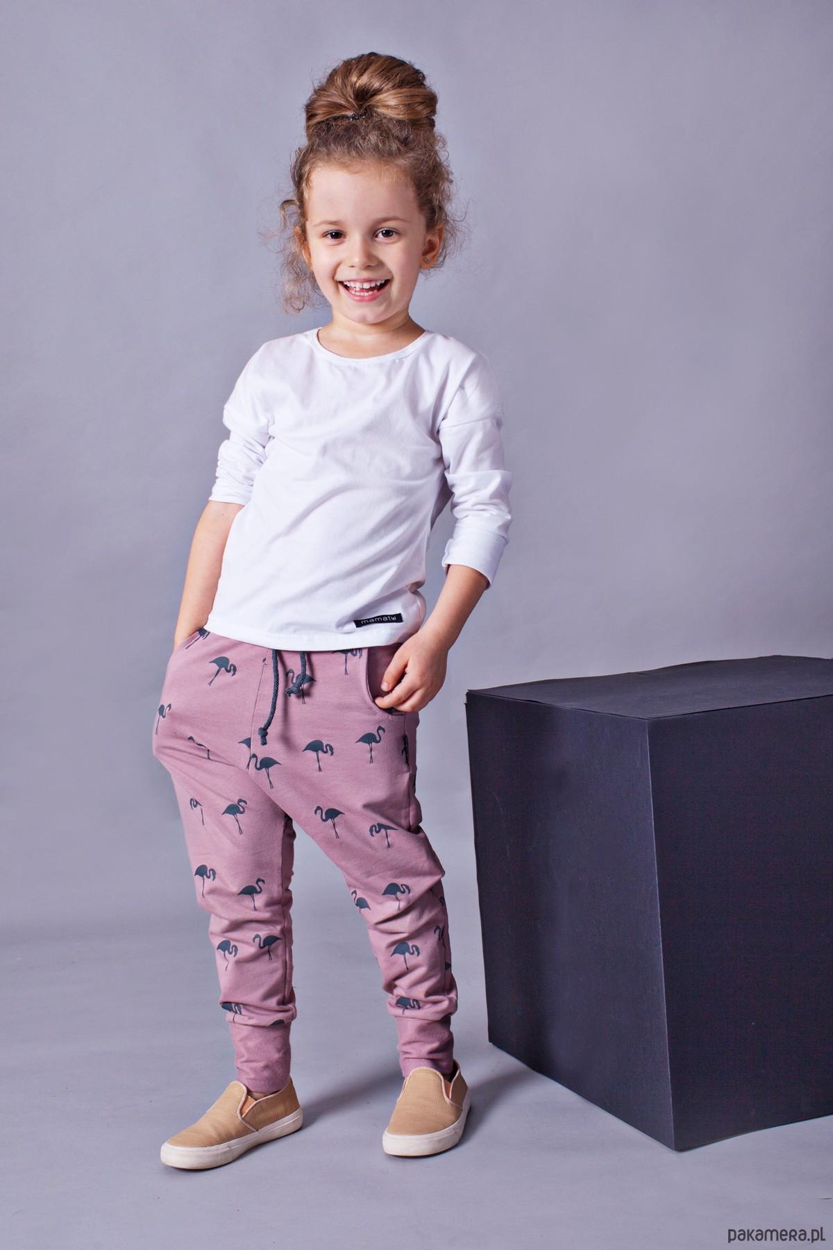 5aff78f5 Spodnie dziecięce flamingi - Pakamera.pl