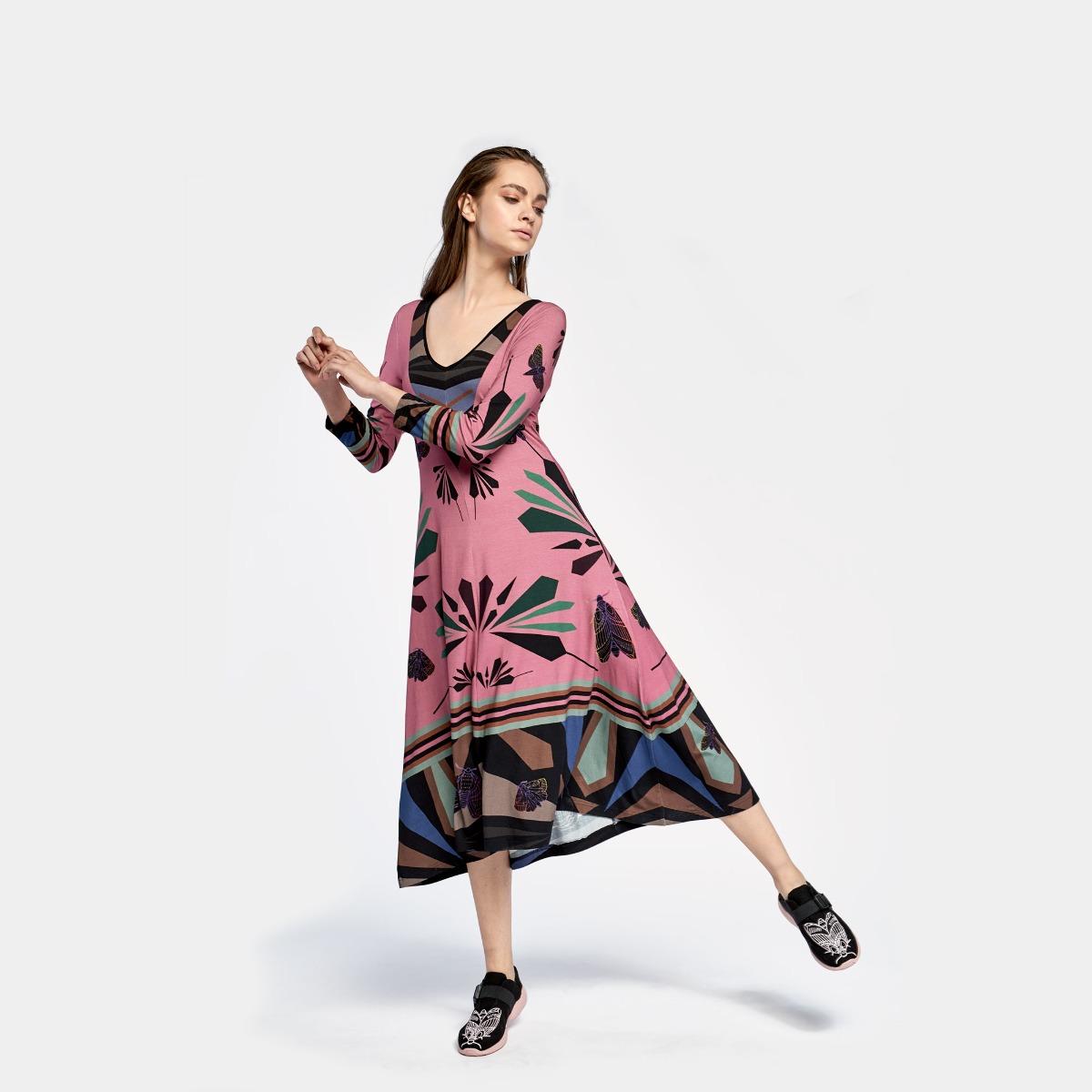 Sukienka Ćma Pink