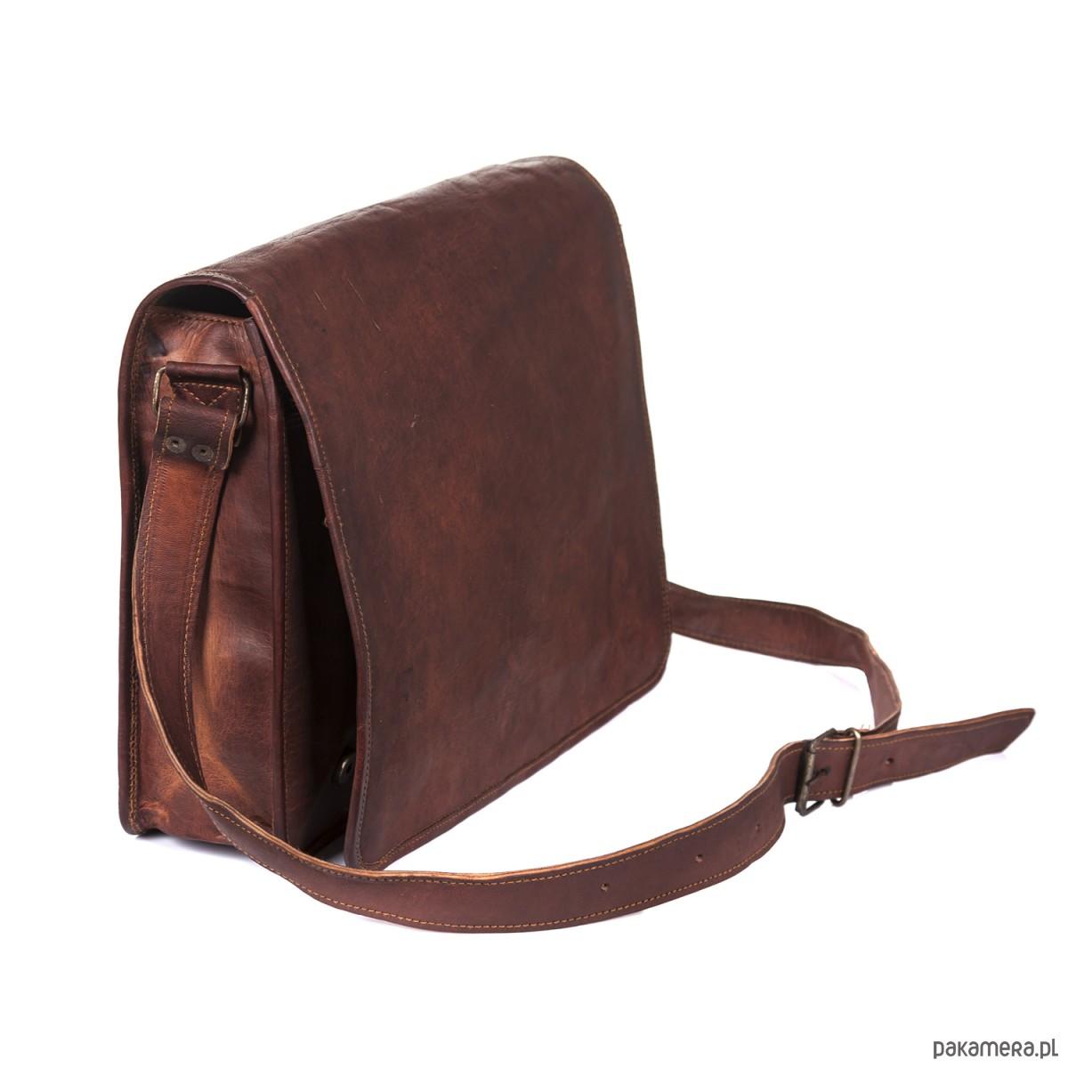 6f982525b41aa Skórzana torba na ramię ZADRA BAG - torby na ramię - unisex - Pakamera.pl