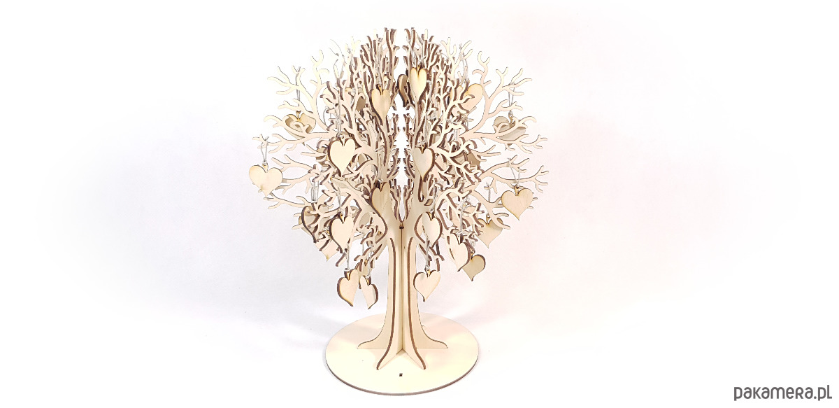 Księga Gości Weselnych Drzewko ślubne Pakamerapl