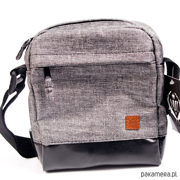 00c4a9ffb0a88 Torba   saszetka na ramię Nuff wear - szara - torby na ramię - unisex -  Pakamera.pl