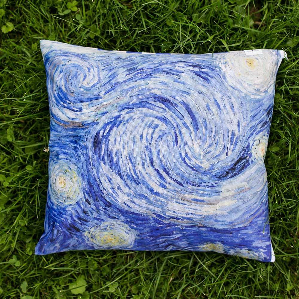 Poszewka Na Poduszkę Van Gogh Gwiaździsta Noc Pakamerapl