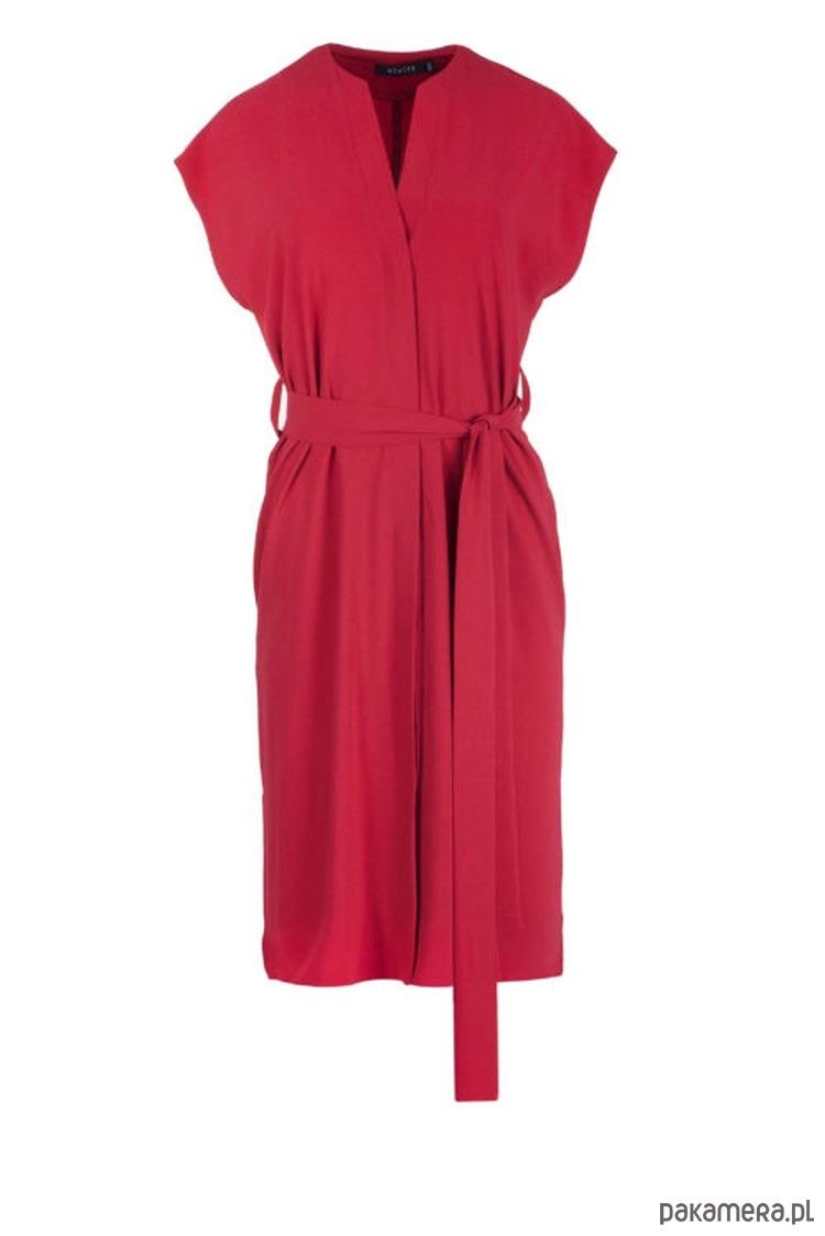 Sukienka LISA czerwona krótka