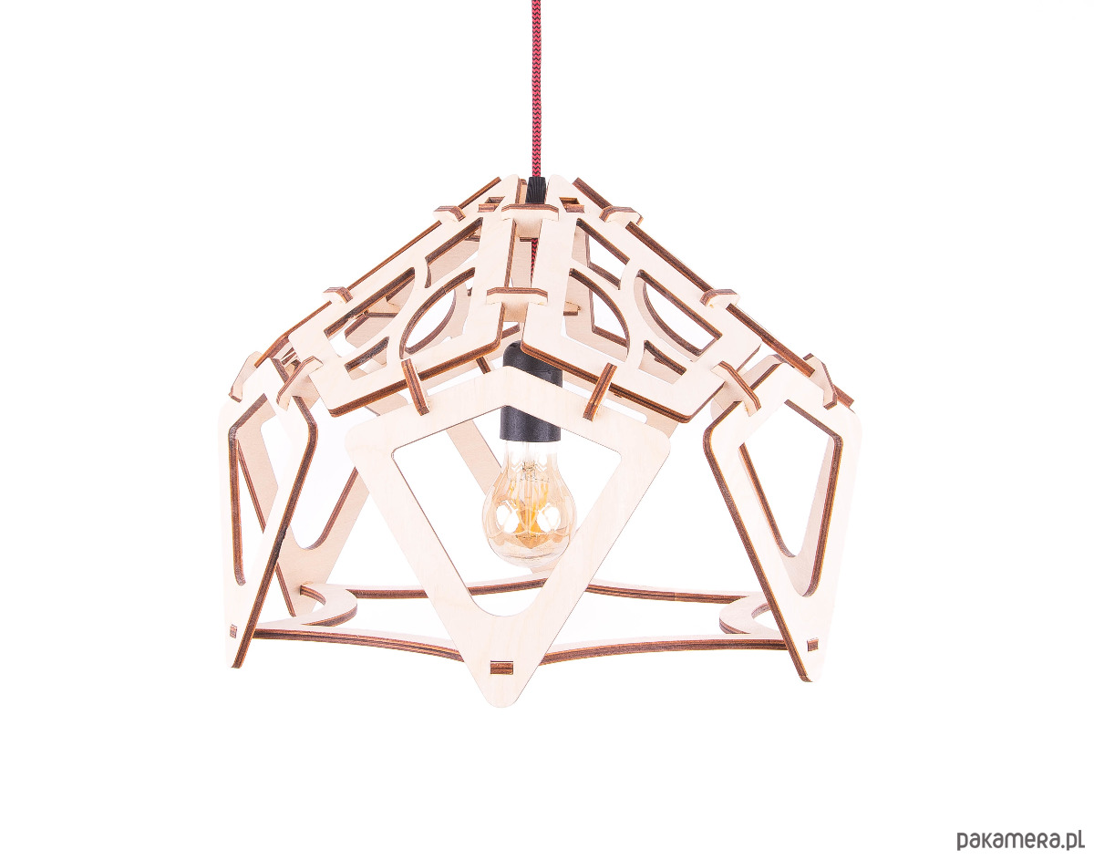 4f136cace9aa Industrialna lampa sufitowa wisząca do salonu - lampy - wiszące ...
