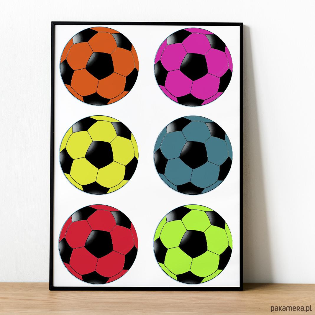 Plakat Piłka Nożnafootball Pakamerapl