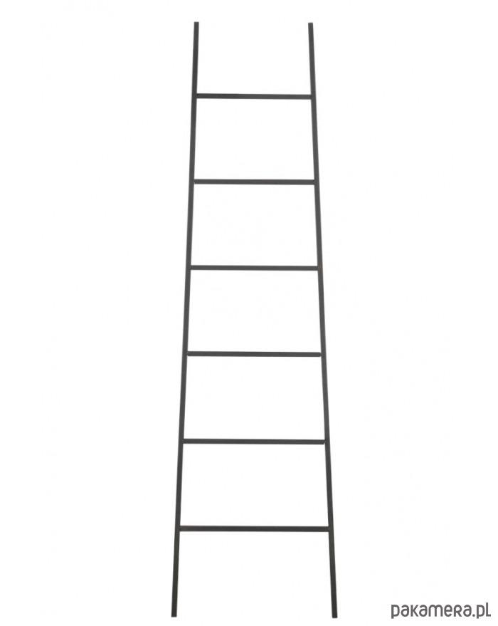 Drabina drewniana Czarna - 2025533
