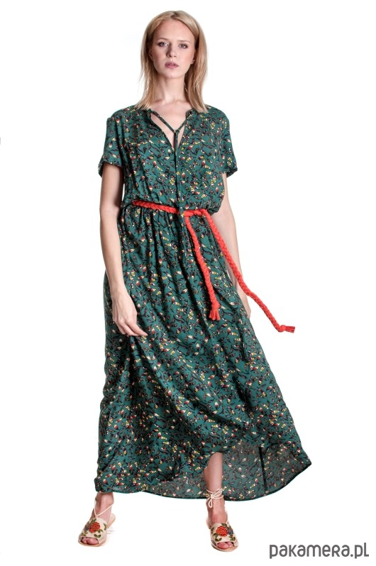 Sukienka Fio Maxi-Green
