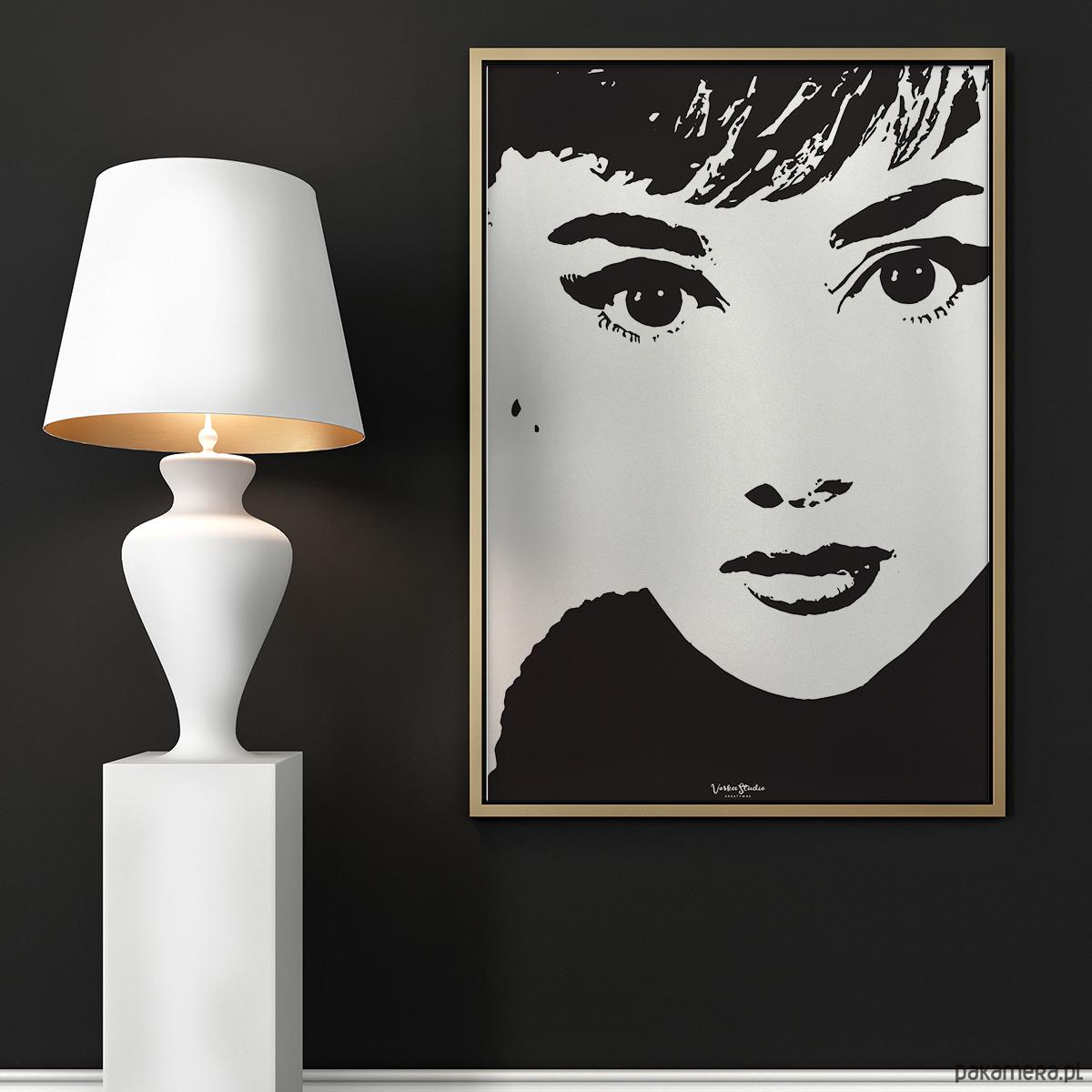 Plakat Audrey Hepburn Pakamerapl