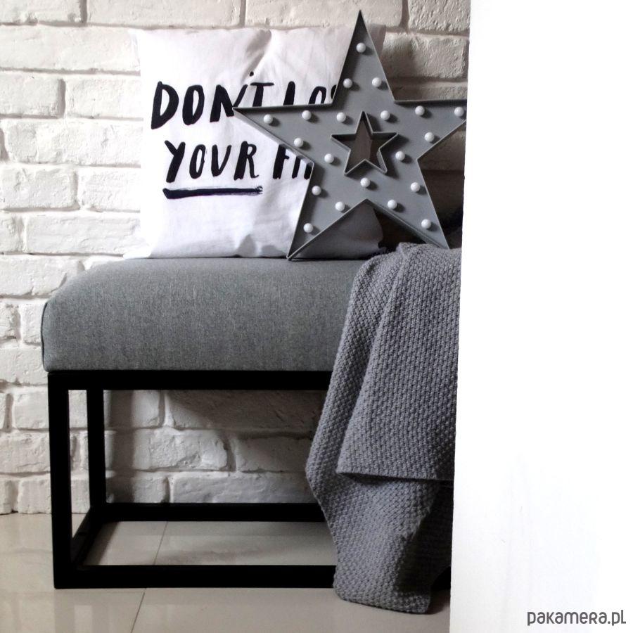ławeczka ławka Loft Pufa Siedzisko Przedpokój Pakamerapl
