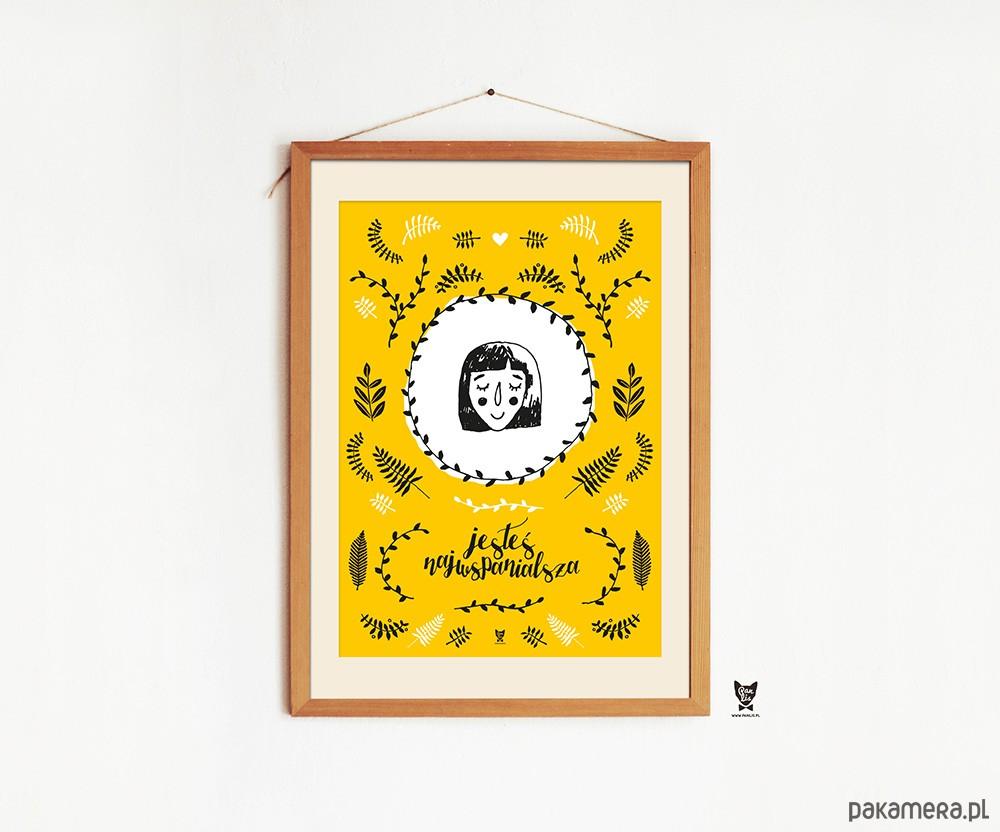 Plakat Dla Niej Dla Dziewczyny Mamy Babci A2 Pakamerapl