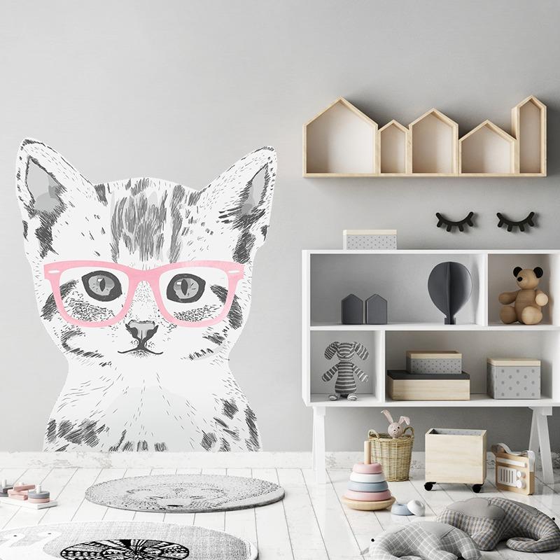 Kot Miaurycy Dk234 Róż Dziecko Tapety I Naklejki Pakamerapl