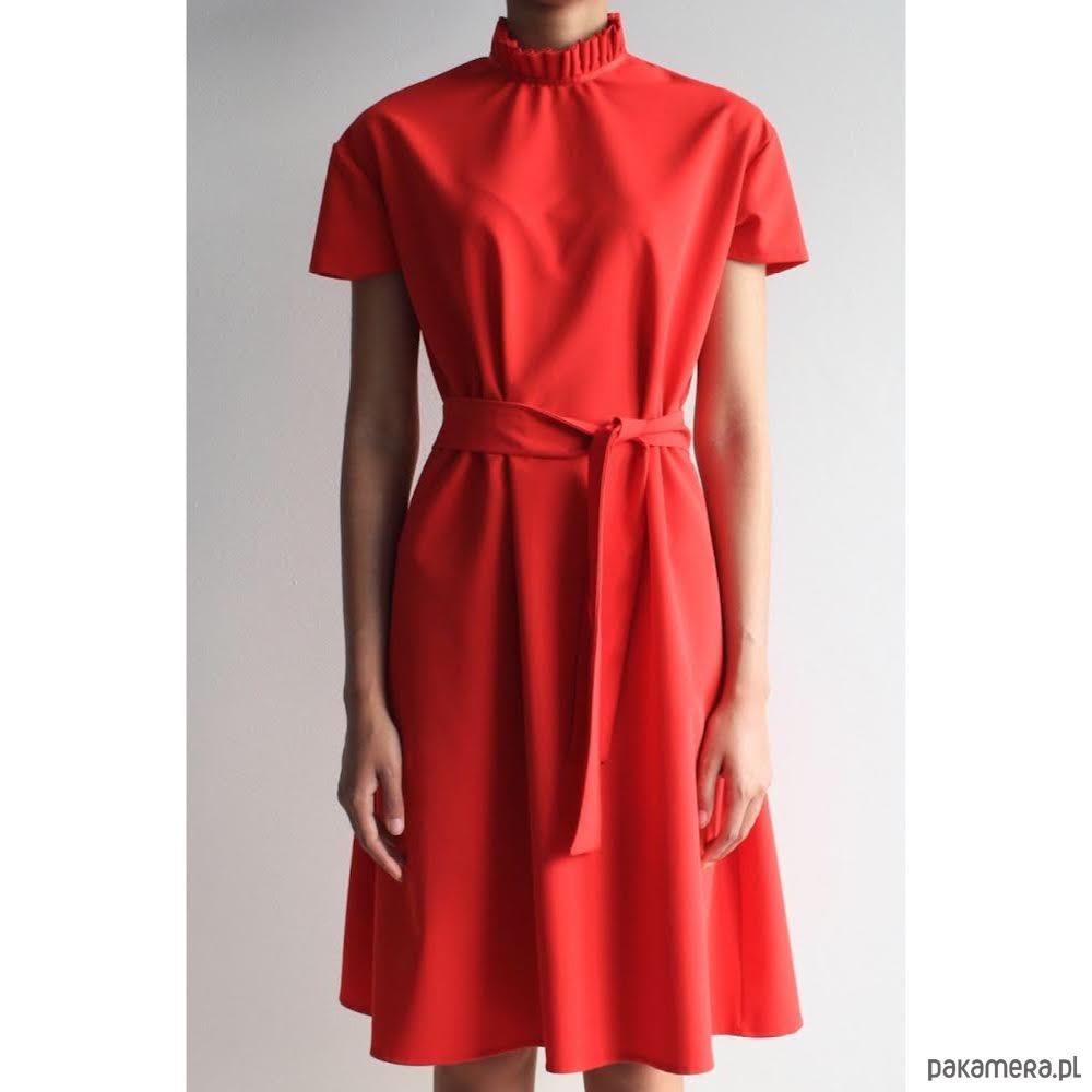 Sukienka CHARMING DRESS SHORT RED POWER LTD