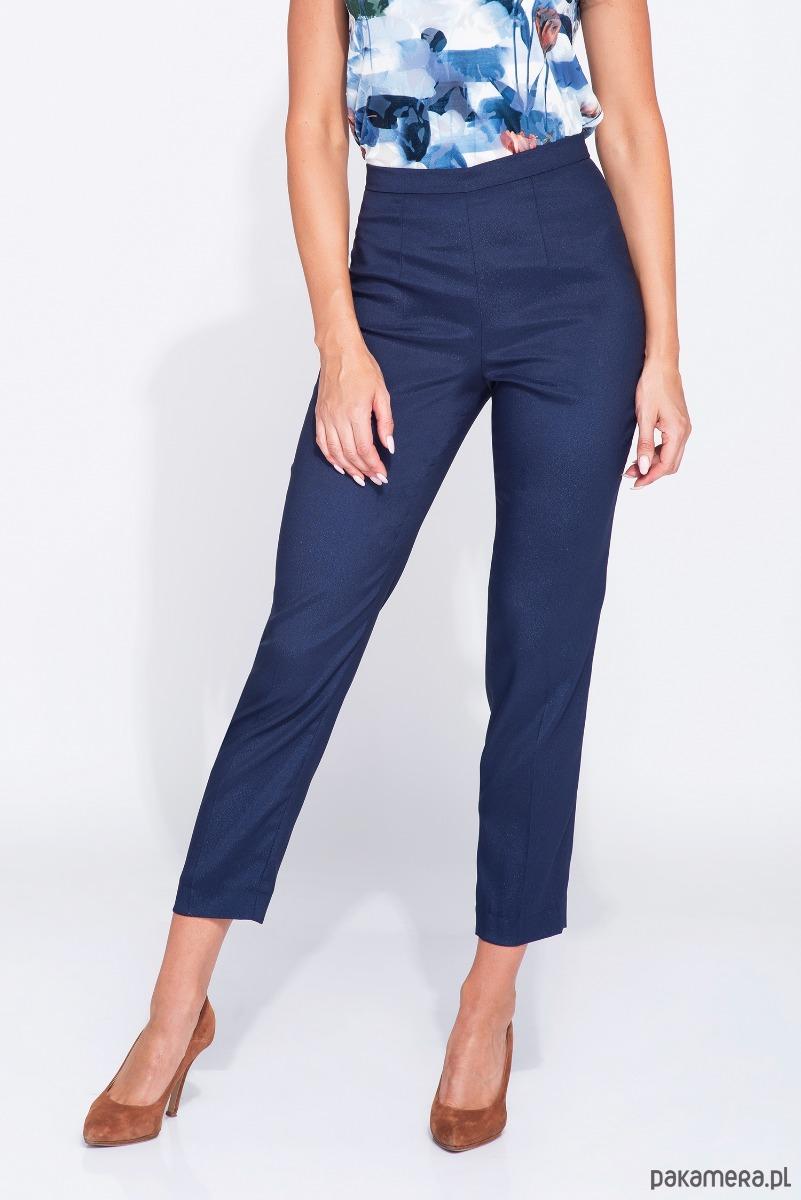 c8eb642dc006ac Eleganckie spodnie damskie granatowe - Moda - spodnie - inne ...