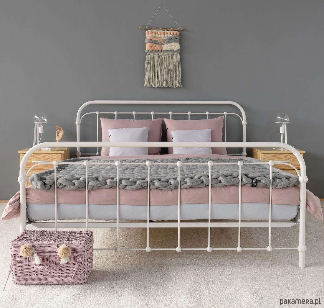 Babunia łóżko Metalowe 160x200 Pakamerapl