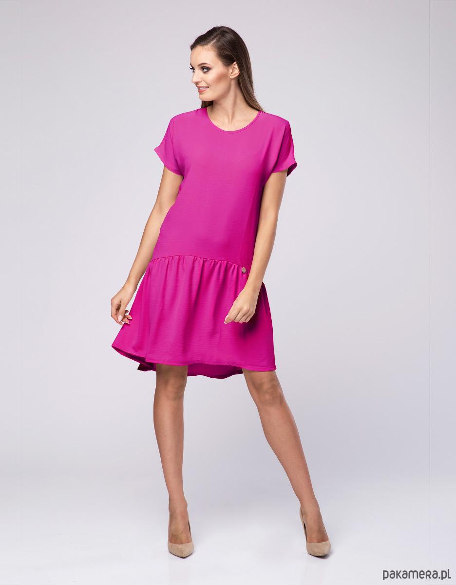 d77879438f Sukienka damska Powder LOOK 607 róż fuksja - sukienki - mini ...