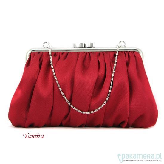 c7e4ba70cd9ac Torebka koktajlowa    deep red elegance    - torebki do ręki ...
