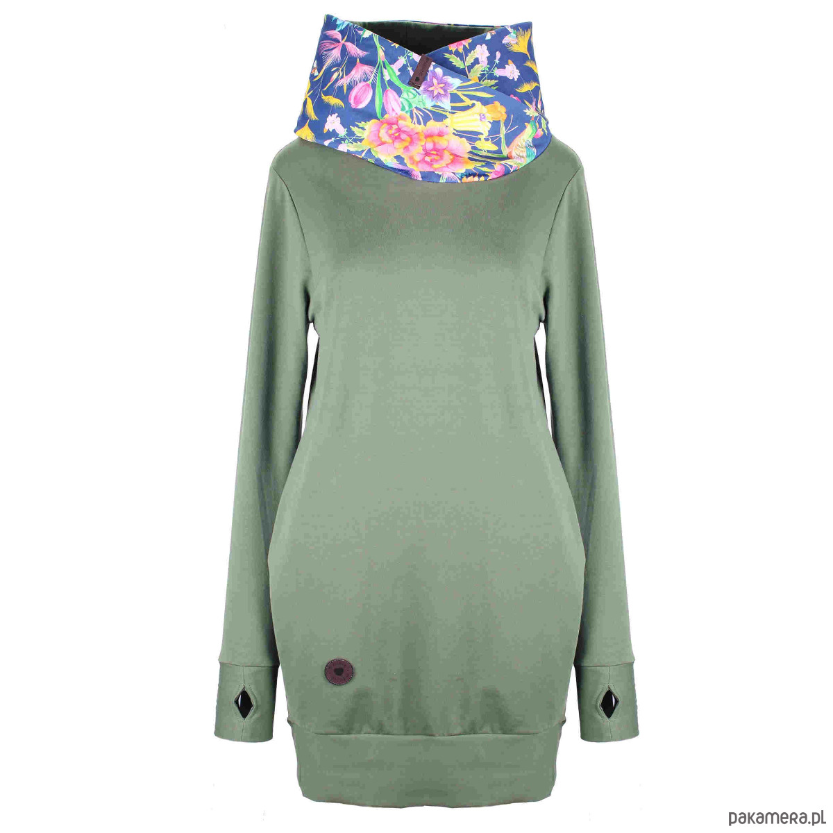 Sukienka SPRING & ROLL khaki