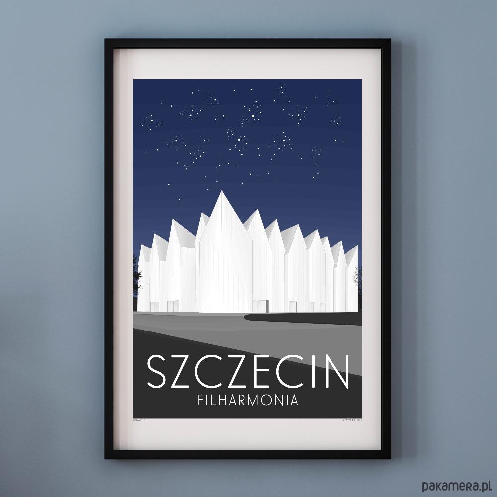 Plakat Szczecin Filharmonia Pakamerapl