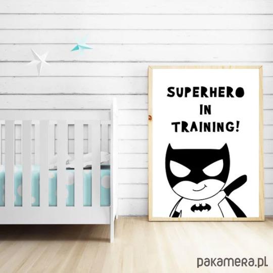 Plakat Do Pokoju Dziecka Superhero Dla Chłopca Pakamerapl