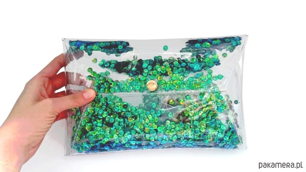 be904ff2887e1 kopertówka cekiny sylwester wieczorowa emerald - kopertówki ...