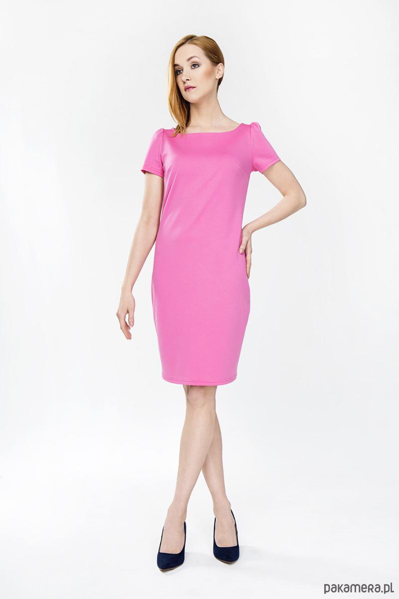 61f79a3462 Sukienka Różana - WIOSNA LATO Darksus - sukienki - midi - Pakamera.pl