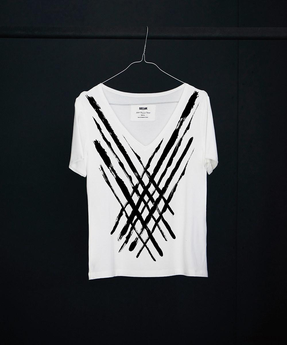 Dani abstract no.2 t-shirt - SELVA