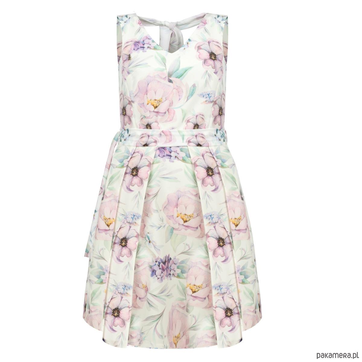 PROMO   Sukienka Chloe z wiązaniem na plecach