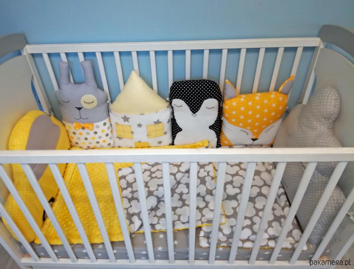 Ochraniacz Do łóżeczka Modułowy Zwierzątka Pakamerapl