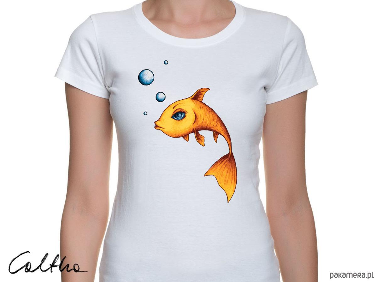 Złota rybka - t-shirt - różne kolory
