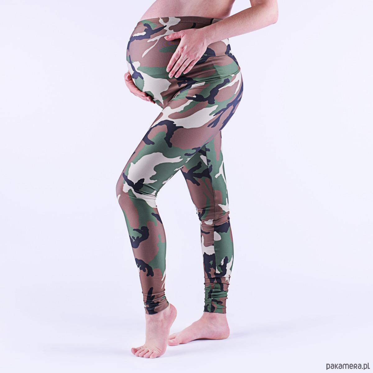 Legginsy ciążowe MORO