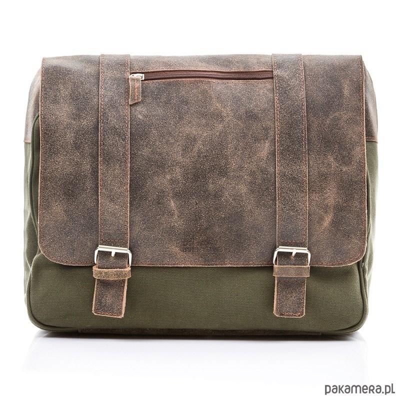 3097ad41b952a akcesoria - torby i nerki - męskie-Torba męska Paolo Peruzzi canvas + skóra  299