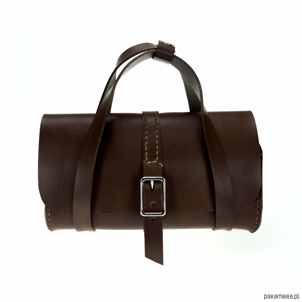 cb25e714752b2 Torebka skórzana OFFME BE YOU VINTAGE brązowa - torebki do ręki ...