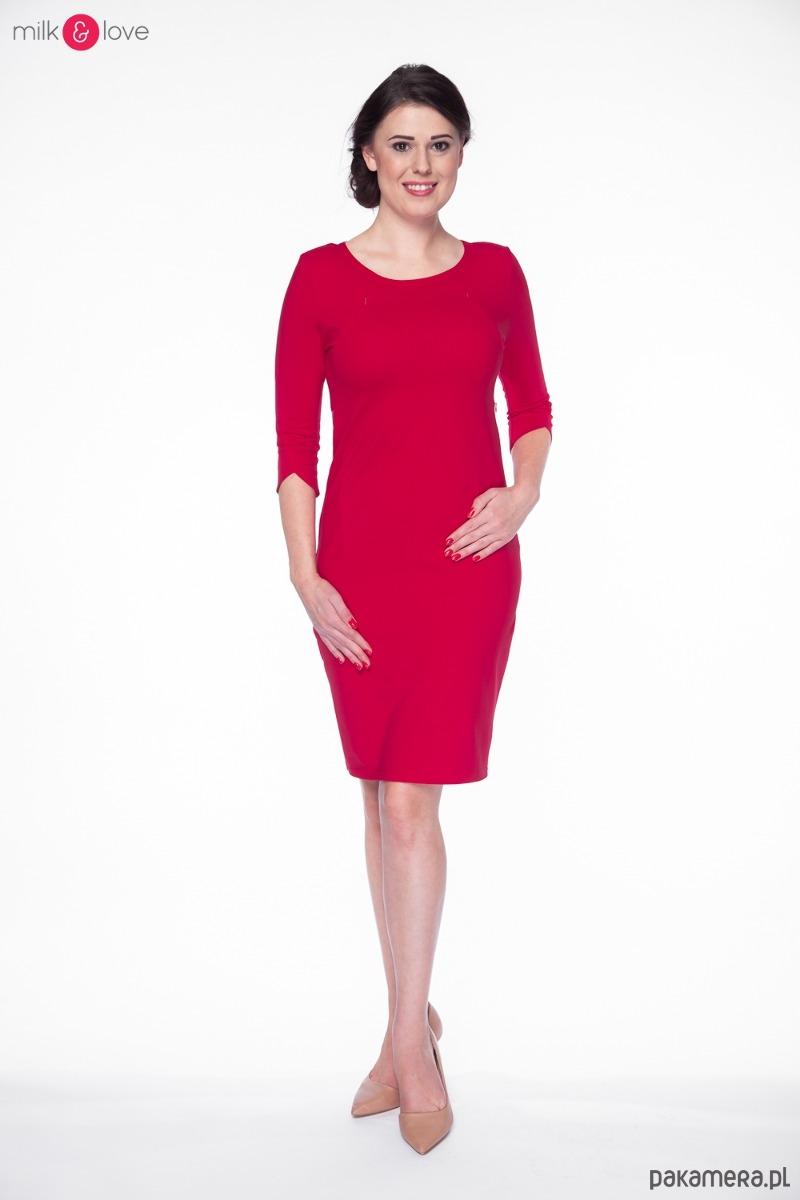 0ebc7005a430 Sukienka do karmienia Milky Dress rękaw 3 4 - mama - do karmienia ...