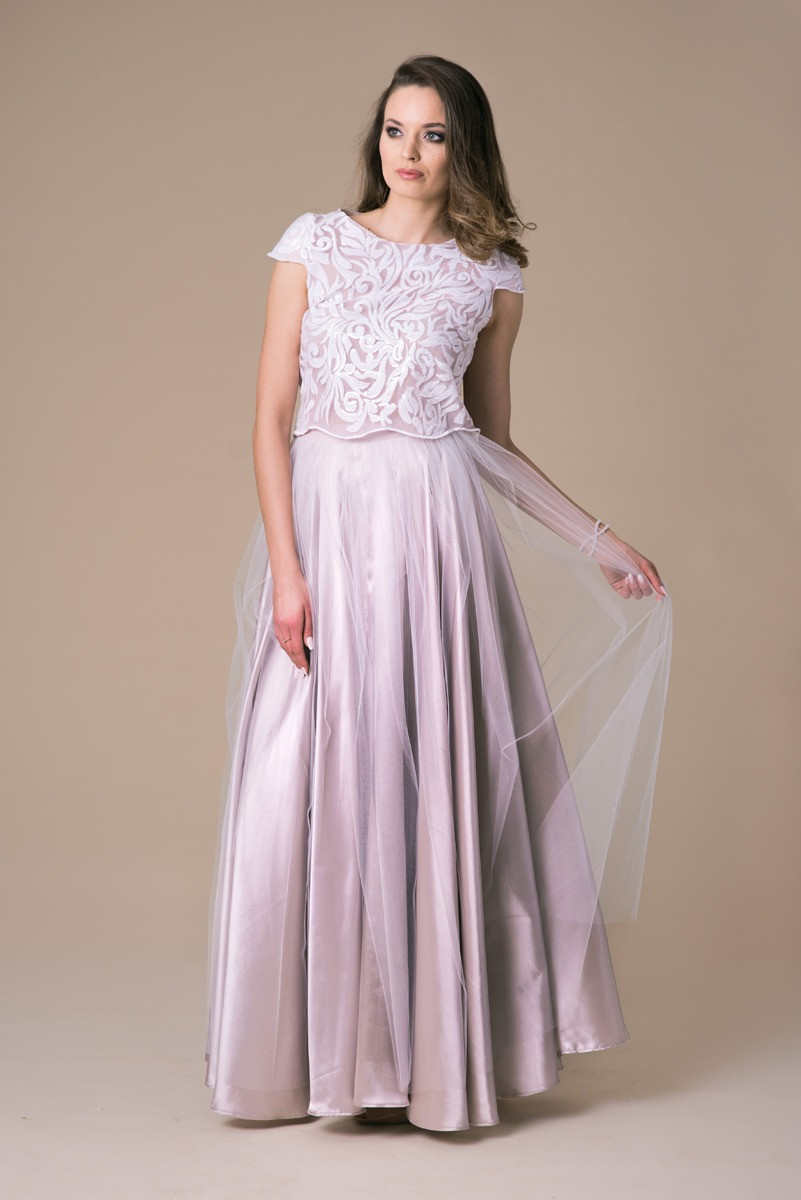 Suknia ślubna dwuczęściowa Minte