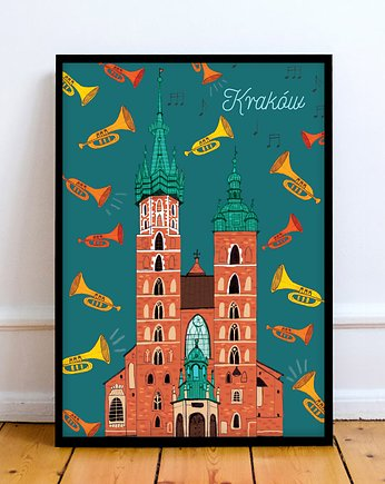 LOVE POLAND DESIGN, Plakat Mariacki