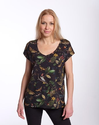 NO SUGAR WEAR, T-SHIRT DIA  Black Botanica