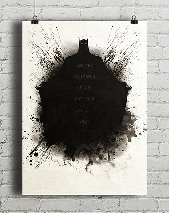 Batman - plakat z cytatem