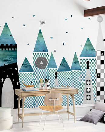 humptydumptyroomdecoration, Mural dziecięcy Green Wonderland