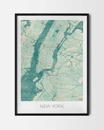 New York, Plakat New York - Nowy Jork - CityArtPosters