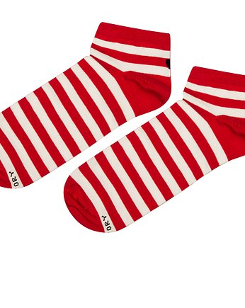 Soxstory, Skarpetki Red Stripes Low