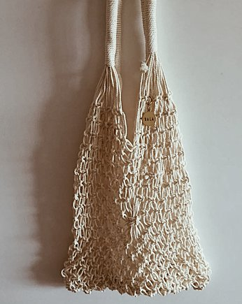 Sięgnij po naturę, Shopper BALA White net bag