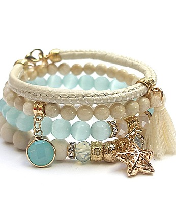KiKa pracownia, Ivory and light blue vol. 8 /12-04-20/ set