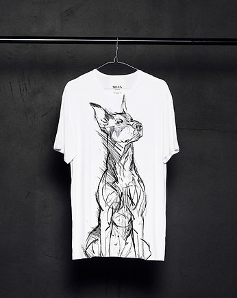 fashion, Doberman Pinscher t-shirt man